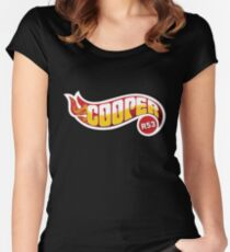 R53 Cooper Flames Women's Fitted Scoop T-Shirt