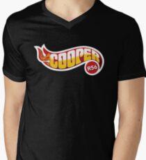 R56 Cooper Flames Men's V-Neck T-Shirt