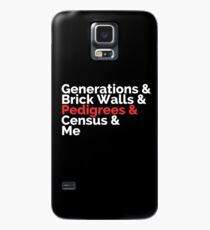 The Roots: Generations & Brick Walls & Pedigrees & Me Case/Skin for Samsung Galaxy