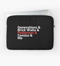 The Roots: Generations & Brick Walls & Pedigrees & Me Laptop Sleeve