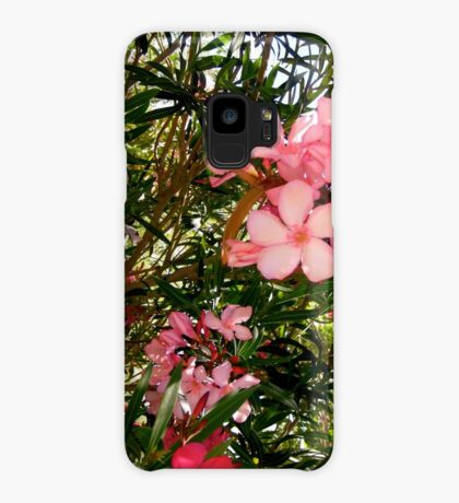 Pink and red oleanders Case/Skin for Samsung Galaxy