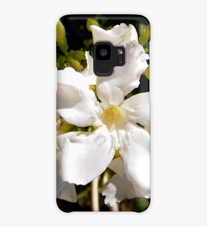 White oleanders Case/Skin for Samsung Galaxy