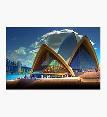 A Different View - The Sydney Opera House Photographic Print