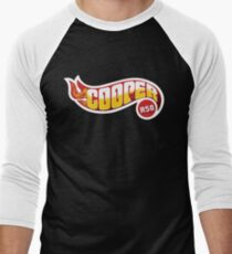 R58 Cooper Flames Men's Baseball ¾ T-Shirt