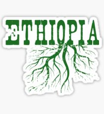 Ethiopia Roots Sticker