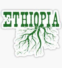 Äthiopien Wurzeln Sticker
