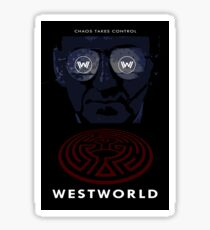 Westworld Show Poster Sticker