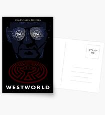 Westworld Show Poster Postcards