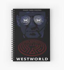 Westworld Show Poster Spiral Notebook