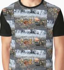 Water Falls Graphic T-Shirt