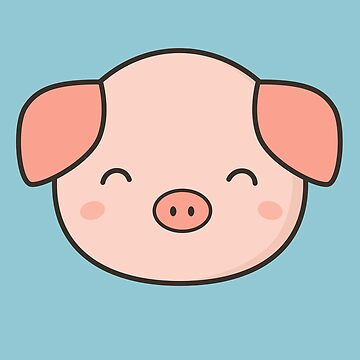 Kawaii Cute Pig  by happinessinatee
