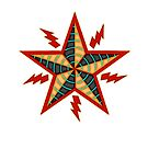 Electric Star Graphic Emblem by wmr2