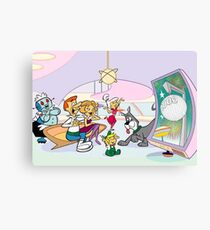 jetson's new year Canvas Print