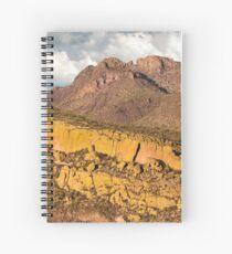 Lake Bartlett Mountains Spiral Notebook