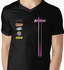 Nate Dean Racing Pit Shirt Men's V-Neck T-Shirt