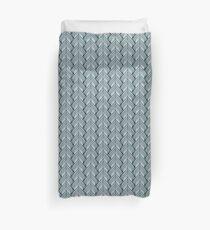 Metallic Spade Pattern Duvet Cover
