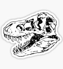 Geo-Rex Vortex | Schwarz Sticker