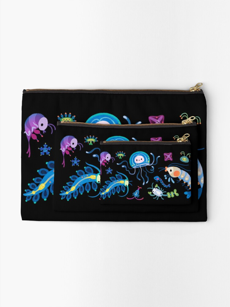 Alternate view of Zooplankton Zipper Pouch