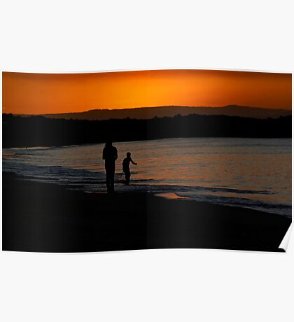 Waterscape: Noosa. QLD Poster