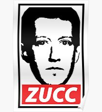 OBEY THE ZUCC Poster