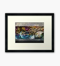 'Intoxicate' Digital Art Collection Framed Print