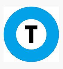 東京メトロ 東西線ロゴ -Tokyo Metro Tozai Line logo- Photographic Print