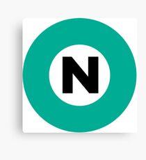 東京メトロ 南北線ロゴ -Tokyo Metro Nanboku Line logo- Canvas Print