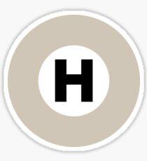 東京メトロ 日比谷線ロゴ -Tokyo Metro Hibiya Line logo- Sticker
