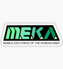 MEKA Logo Sticker