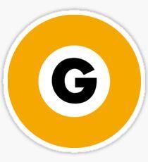 東京メトロ 銀座線ロゴ -Tokyo Metro Ginza Line logo- Sticker