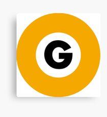 東京メトロ 銀座線ロゴ -Tokyo Metro Ginza Line logo- Canvas Print