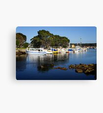 Bermagui Harbour Canvas Print