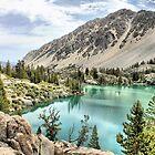 First Lake-Big Pine Creek by Rosalee Lustig