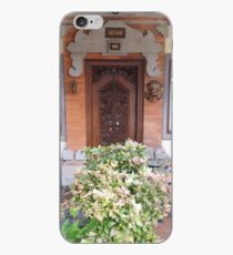 BALI DOOR iPhone Case