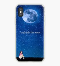 Vinilo o funda para iPhone Only told the moon