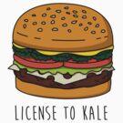 License to Kale by geeksweetie