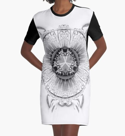 Amoeba 11 Graphic T-Shirt Dress