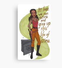 Zoe Washburne, Outlaw Extraordinaire Canvas Print