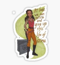 Zoe Washburne, Outlaw Extraordinaire Sticker