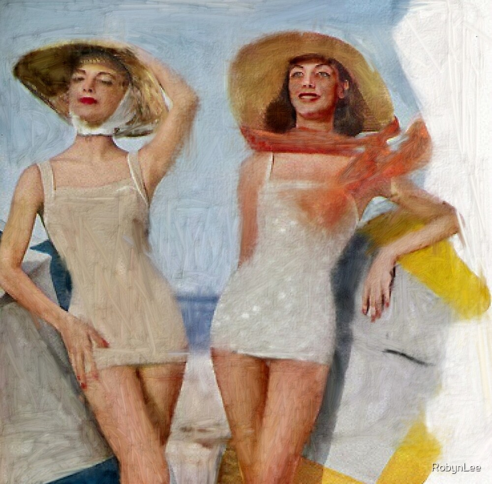 1950's Bathing Beauties by RobynLee