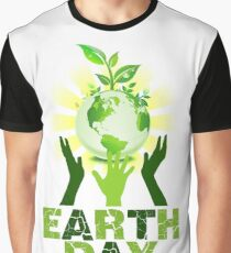 Earth Day 2018 Graphic T-Shirt