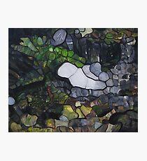 Horseshoe Falls Tasmainia Landscape modern abstract Photographic Print