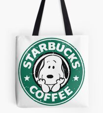 Snoopy Cafe Tote Bag