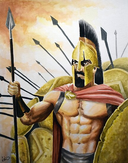 300 Spartan King Leonidas by thewisecarrot