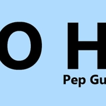 Pep Guardiola I'm So Happy Quote Design - Manchester City by Football-Tees
