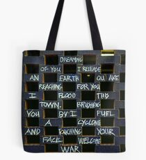 Johnny's Dreaming Tote Bag