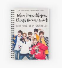 ASTRO Kpop Spiral Notebook