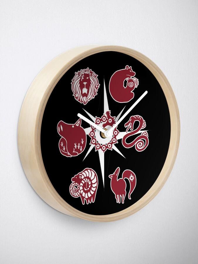 Alternative Ansicht von Seven Deadly Tattoos Uhr