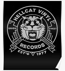 Hellcat Vinyl Records  Poster