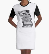 B'99 Sex Tapes Graphic T-Shirt Dress